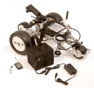 automatic-golf-push-cart-assembly