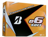 Bridgestone Golf e6 SOFT Golf Balls, White, Soft (Dozen Golf Balls)