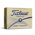Titleist NXT Tour S Prior Generation Golf Balls, White (One Dozen)